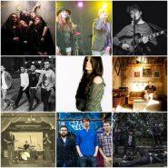 Garage 17 album launch collage