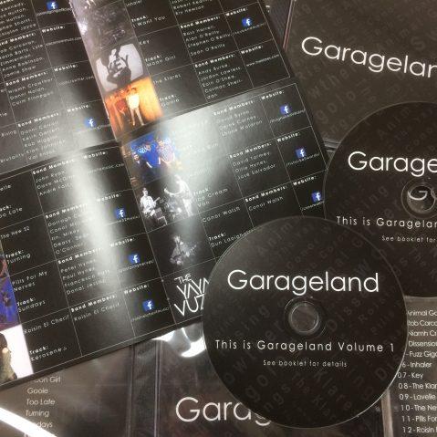 garage 17 album display
