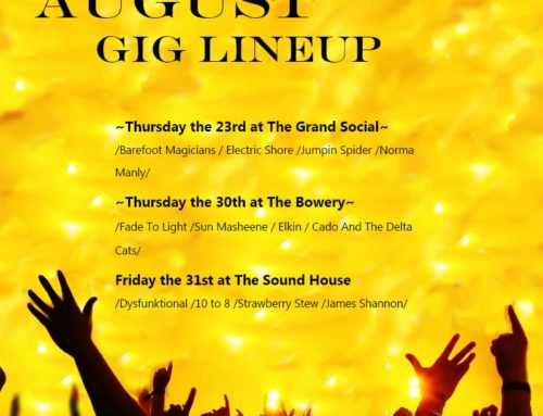 August Gig Dates – Filling Quickly!