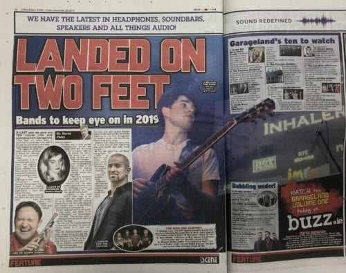 Picture of Garageland & The Daily Star - Ones To Watch for 2019!