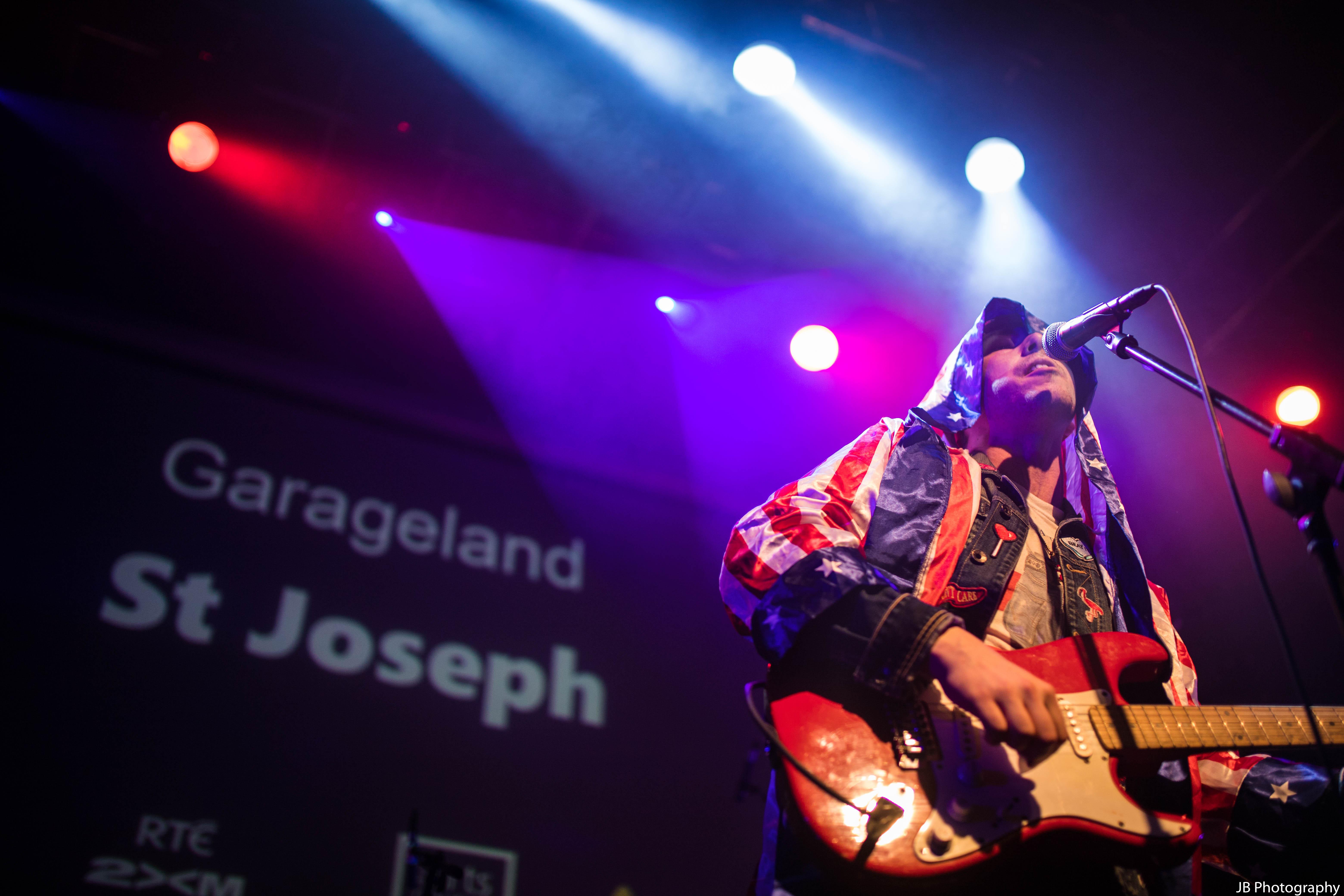 Picture of St. Joseph - Garageland TV finale gig