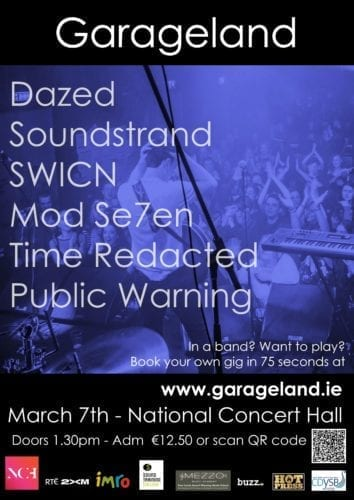 Picture of Garageland All Ages Gig At The National Concert Hall